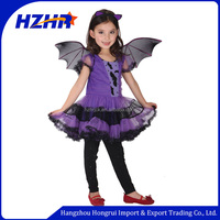 2015 cosplay carnival kids costume /carnival costume for girl dress/devil seriea kids costume party girl dress