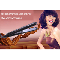 Утюжок для выпрямления волос 100/240v