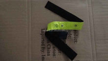 Hot sale led reflective pve tape with low price,high quality reflective wrist band for sport