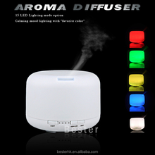 smart collection perfume wholesale, designer colorful lights aroma diffuser BS007