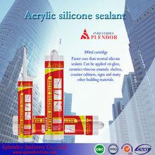 Acetic silicone sealant; gap filler; drum sealant