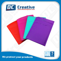 colorful Poly bubble mailer custom bubble mailer wrap
