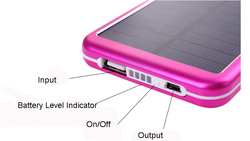 mini move system power solar charger with mobile charger