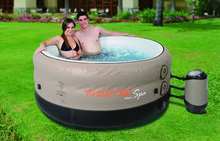 SUNZOOM outdoor spa pool,inflatable swimming spa,inflatable pool