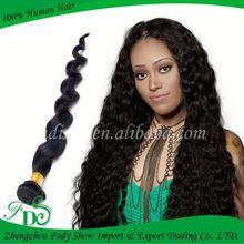 100% human virgin hair good quality no shedding pure brazilian bouncy curl human hair weaving