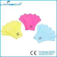 Promotional adult silicone swimming glove