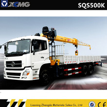 XCMG hydraulic telescopic crane car with reasonable price