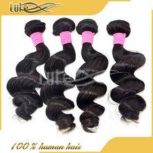 6A Top grade human hair extension unprocessed crochet hair extension