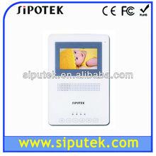new design 4.3 inch tft lcd handfree video door intercom SIPO-845 with plastic case