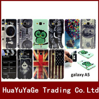 Owl national flag Pattern TPU Soft Silicone phone cases cover for Samsung Galaxy A5