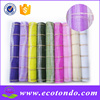 Wholesale 2015 Hot 21inch Plastic Flower Packing Deco Poly Mesh Roll For Christmas Gift Wrap