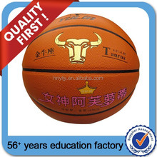 leather basketball balls size 7 high quality for America Club