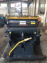 ML-930 Platform Corrugated Cardboard Creasing and Die Cutting Machine with High Performance