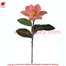 High quality PU natural touch magnolia flowers decorative magnolia artificial magnolia flower