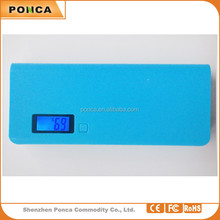 External Battery Pack for all mobile phone general emergency and backup power charger 15000mah power bank
