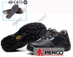 Leather Split Industrial Safety Shoe, Military Safety Boot Factory in China