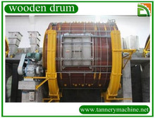 Traditional dyeing leather wooden drum supplier
