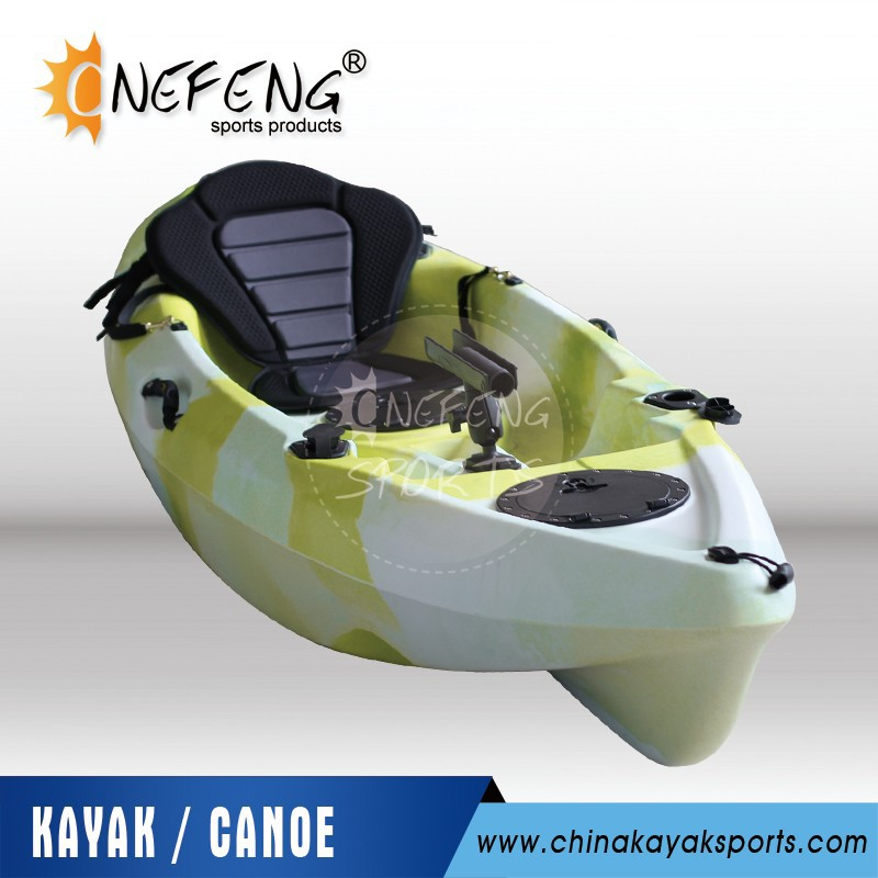 Kayak canoe with rudder and foot pedal system buy for Fishing kayak with foot pedals
