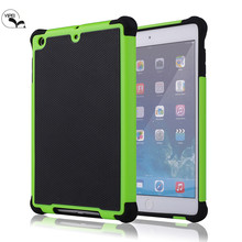 High Quality 3 in 1 hybrid football case for ipad mini 2 Back Cover Case