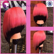 New brazilian virgin hair straight bob haircut wigs lacefront/full lace wig brazilian short bob wigs for black women glueless