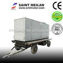 70kw trailer generators super silent diesel power factory equipment