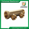 well designed forged CuZn37Pb2 large brass quick coupling y pattern manifold for oil