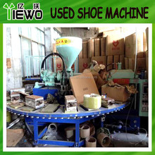 Used Good condition pvc air blowing shoe machine ( KCL brand 2014 year )
