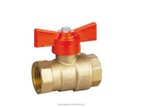 Butterfly Handle/T Handle/Short Handle Forged Brass Ball Valve