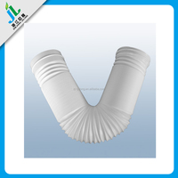 wholesale custom flexible plastic pipe bend for smoke exhaust