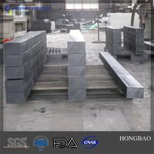borated polyethylene board, rigid plastic sheeting, neutron shielding