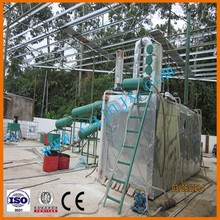 Hot sale in Malaysia used car oil recycle plant/distillation plant to diesel fuel oil from mineral oil