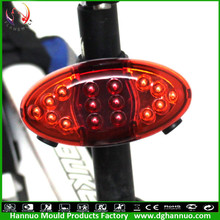 Hot sale waterproof CE mountain bike laser power beam cycling tail light with bag