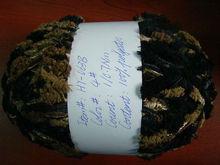 100% polyester ring single spun yarn for knitting 30/1