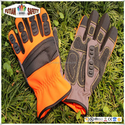 FTSAFETY best saller motorcycle leather palm glove