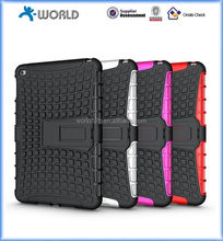 2 in 1 Combe PC+TPU Heavy Duty Shcokproof Case for iPad Mini 4 with Kickstand