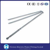 VIC Pole Line Hardware Stay Rod Manufacturer Galvanized Stay Rod Adjustable Turnbuckle Stay Rods Price