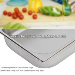 LFGB & NSF Approve Heavy Duty Stainless Steel gn pan franke kitchen sinks