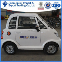 HONGCHANG fuel efficient car van 4x4 ISO all electric cars for sale