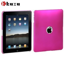 2015 Fancy Titanium Solid Hot Pink Ring Back Protector Case Cover for apple ipad