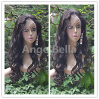 Angelbella Wholesale Cheap Peruvian Lace Wig High Quality Peruvian Hair Lace Wig