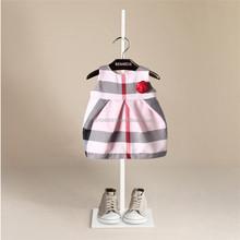 sex hot girl Children's wear sleeveless round collar double skirt
