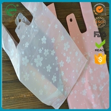 HDPE custom plastic shopping bag/ packaging plastic bags