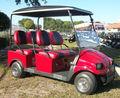 Villager tipo 4 pasajeros del carro de golf con energía solar