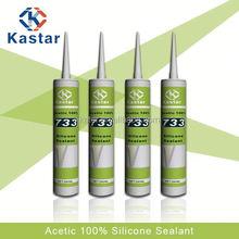 Glass silicon sealant adhesive sealants and adhesives KASTAR 733
