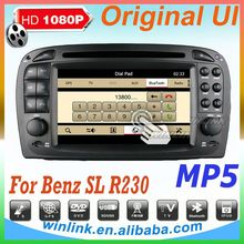 Special in dash audio for Benz R230 with car dvd
