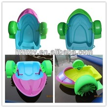 Adult water plastic hand power paddle boat for sale