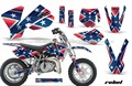 Fresco de moto sticker decal/bike sticker decal