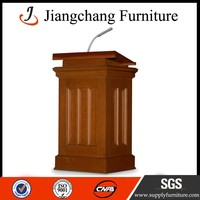 Church Pulpit Wooden Material Podiums For Sale JC-JT18