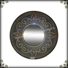 Home decoration mirror metal WALL mirror