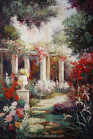 New wall art oil painting picture of flowers